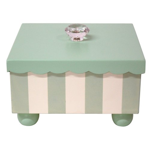 My Baby Sam Keepsake Box in Green