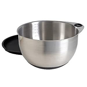 pampered chef 8 quart stainless mixing bowl with lid mixing bowl sets kitchen dining. Black Bedroom Furniture Sets. Home Design Ideas