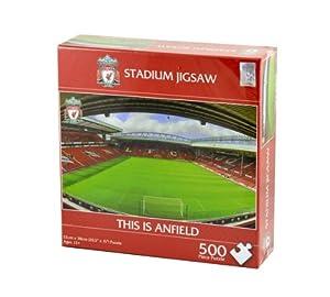 New Official Football Team Stadium Jigsaw Puzzle (Liverpool FC)