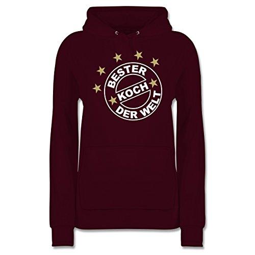 kuche-bester-koch-der-welt-xs-burgundrot-jh001f-damen-premium-kapuzenpullover-hoodie