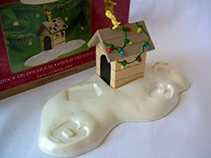 Woodstock On Doghouse: #1 in A Snoopy Christmas Hallmark Keepsake Ornament Collection