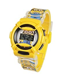 Cartoon Quartz Wrist Watch Minions Despicable Me Minion Cartoon Cute Children Watches (Style 1)