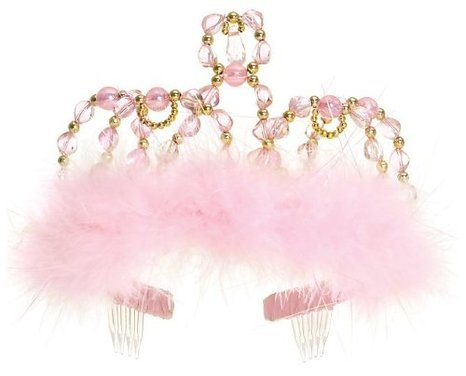 Great Pretenders Princess Tiara -Pink/Gold