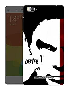 "Humor Gang Dexter Face Printed Designer Mobile Back Cover For ""Xiaomi Redmi Mi 4C"" (3D, Matte, Premium Quality Snap On Case)"