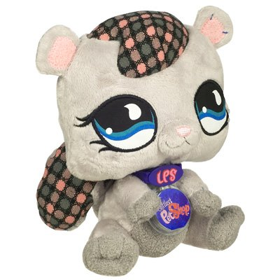 Buy Low Price Hasbro Littlest Pet Shop VIP Virtual Interactive Pet Plush Figure Squirrel (B001H4YYNC)