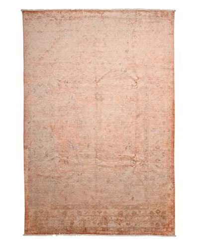 "Solo Rugs Ziegler One-of-a-Kind Rug, Orange, 6' 7"" x 9' 7"""