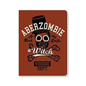 ECOeverywhere Aberzombie and Witch Journal, 160 Pages, 7.625 x 5.625 Inches, Multicolored (jr12675)