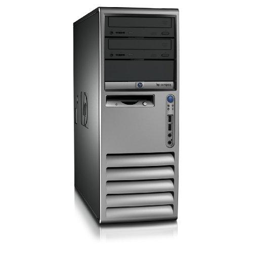 HP COMPAQ Tower Desktop PC Intel Pentium 4 HT 2.8-3.0 Ghz - 1GB Ram - 160GB Hard Drive - DVDROM/CDROM - Windows XP Pro SP3 (Genuine) RapSols