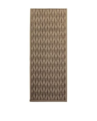 Tapis a Porter Alfombra Modern Marrón 80 x 300 cm