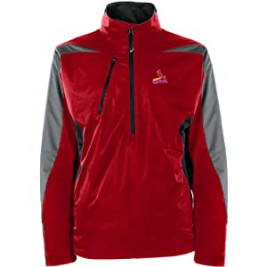 MLB St. Louis Cardinals Mens Discover Jacket by Antigua
