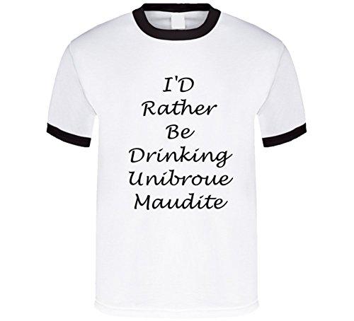 sunshine-t-shirts-id-rather-be-drinking-unibroue-maudite-funny-t-shirt-2xl-black-ringer