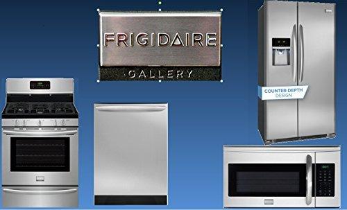 Frigidaire Gallery series kitchen suite - 4 appliances - range, refrigerator, microwave, dishwasher (Kitchen Appliances Fridge compare prices)