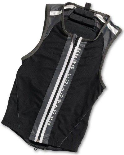 Alpina Jacket Soft Protector II (Mit Nierengurt) Rückenprotektor black/white, Größe:>185