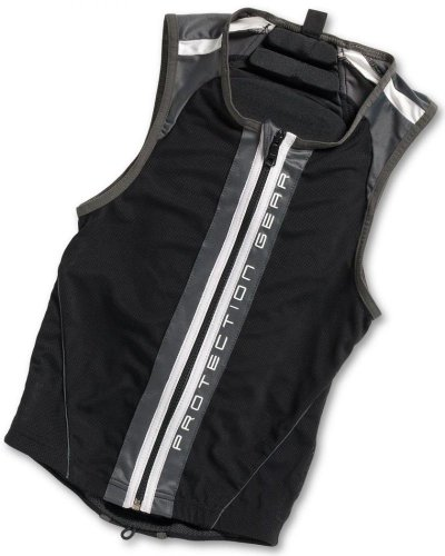 Alpina Jacket Soft Protector II (Mit Nierengurt) Rückenprotektor black/white