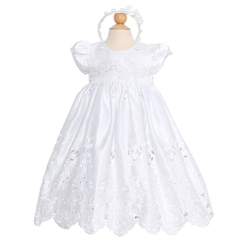 Rain Kids Toddler Girls 3T White Winged Cape Special Occasion Dress front-972836