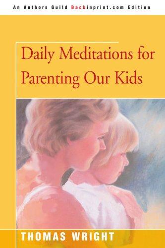 为养育我们的孩子每天沉思