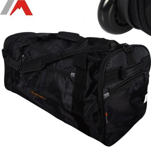 Outhorn XXL Reisetasche mit Rollen von 10 L auf