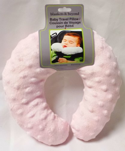 Blankets & Beyond Baby Travel Pillow - Pink