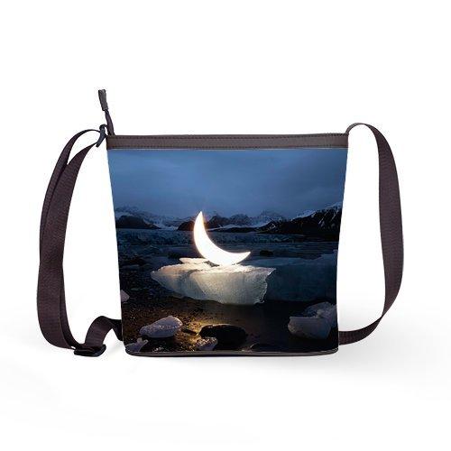 Anhome Art Light Moon On Frozencustom Shoulder Sling Bag front-1078631