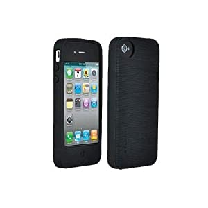 Belkin Apple iPhone 4 4S Black Belkin Silicone Case (Fits AT&T, Verizon or Sprint) [Bulk Packaging] by Belkin Components
