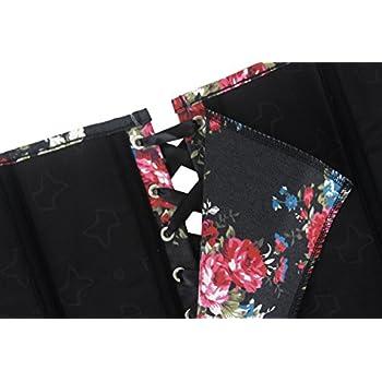 Alivila.Y Fashion Corset Women's Vintage Floral Denim Corset Bustier