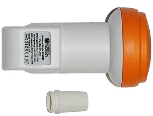 New Single Universal Linear LNB KU-Band LNBF FTA Satellite Dish by Orbital Tracker