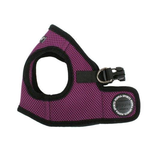 PUPPIA International Harness Soft B Vest, Medium, Purple (Puppia Purple Vest Harness compare prices)