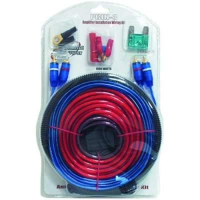 Pyle Pbin3 1000w 20 8 Ga Amplifier Amp Installation Wiring Kit 1000 Watt