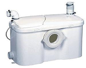 Setma Hebeanlage Watersan+ für WC und 3 weitere Einläufe für Dusche, Waschtisch, Bidet, Urinal mit noch mehr Leistung  Kundenbewertungen