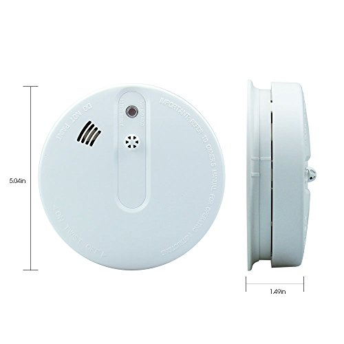 dyg05b wireless battery operated fire alarm smoke detector with photoelectric. Black Bedroom Furniture Sets. Home Design Ideas