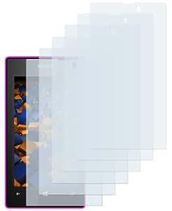 6x mumbi Displayschutzfolie Nokia Lumia 520 Schutzfolie