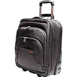 CODi Mobile Max Tall Wheeled Case for 17.3-Inch Laptops, Black (C9035)