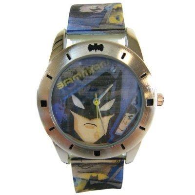 Warner Bros Collectible Batman Watch – Super Cool Batman Wristwatch W/lenticular Picture