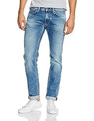 Gas Men's Anders K Slim Fit Jeans (8056775104469_67625WK22_30W x 34L_Blue)