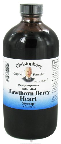 Dr. Christopher 'S - Hawthorn Berry Heart Syrup, 16 Oz