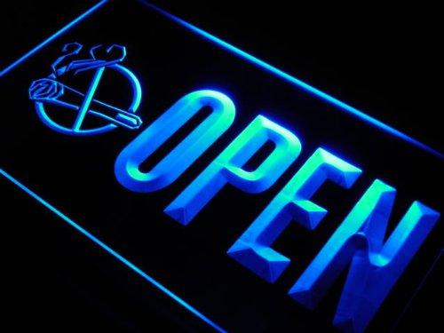Insegna al neon j767-b OPEN NO Smoking Display Free Neon Light Sign