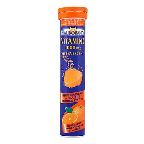 Haliborange Effervescent Vitamin C Orange 1000mg 20 Tablets