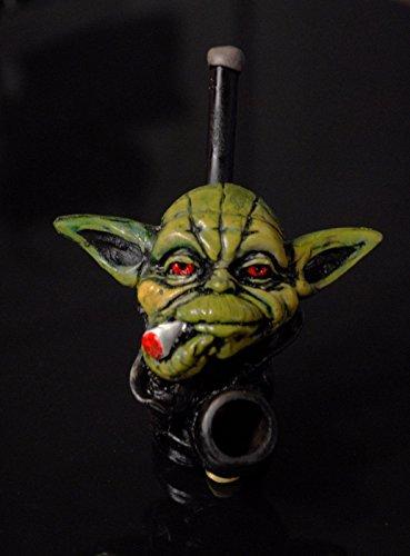 JCUNIVERSAL-Handmade-Tobacco-Pipe-Star-Wars-Yoda-Head-Design