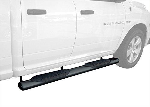 TYGER 3/'/' black side step bars Fit Ram Club Cab//Quad Cab New