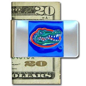 Florida Gators Large Money Clip/Card Holder - NCAA College Athletics Fan Shop Sports Team Merchandise