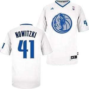 Dirk Nowitzki Dallas Mavericks #41 NBA Youth Swingman Short Sleeve Jersey White by adidas
