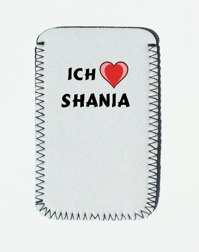 iPhone Case mit Ich liebe Shania - Individualer iPhone Halter (Vorname/Zuname/Spitzname)