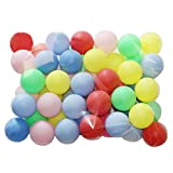 Beer Ping Pong Balls Assorted Color Ball Decoration (50 Pack)