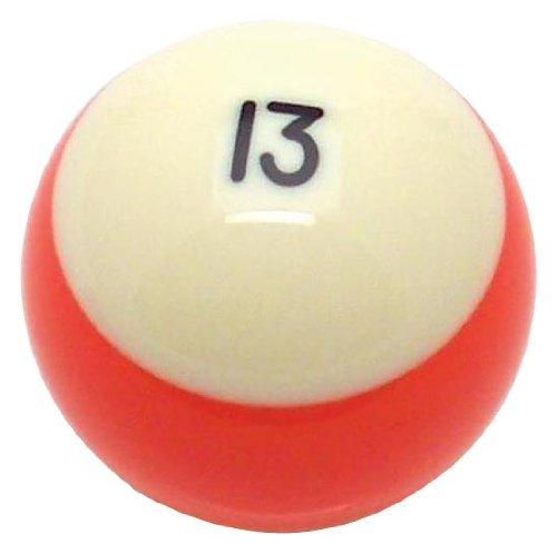 American Shifter 96057 Orange Stripe 13 Ball Billiard Pool Shift Knob (13 Ball Shift Knob compare prices)