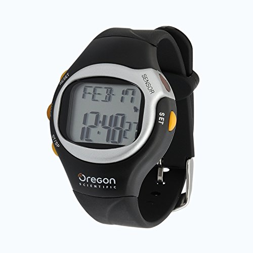Heart Rate Monitor Watch with Calorie Counter oregon scientific rmr262 b black термометр