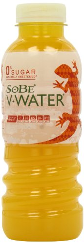 Sobe V Water Kick Ginger and Mango Flavour Bottle 500ml (pack Of 12)