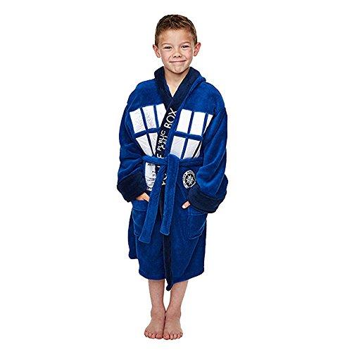 Doctor Who Tardis Costume Kids markenproduct-accappatoio Ÿe M