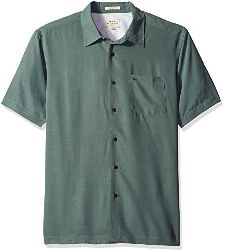 Quiksilver -camicia con colletto button-down Uomo    Balsam Medium