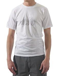 KAVU Men's Camper T Shirt, White, X-Small