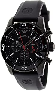 Armani Sportivo Chrono Black Dial Men's watch #AR5948